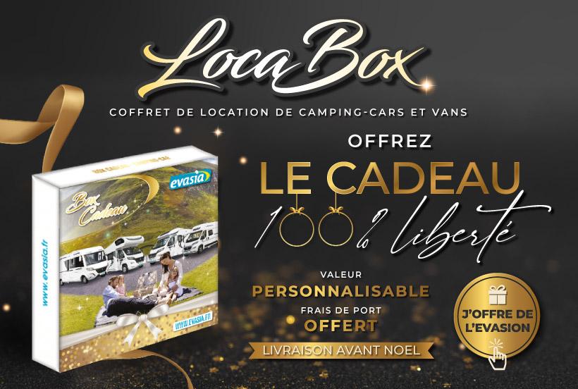Locabox : coffret cadeau de location de camping-car