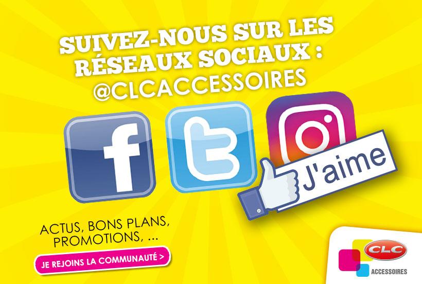 Réseaux sociaux CLC Accessoires