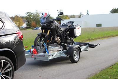 Remorque yo remorques CCL6 - pour scooter et scooter 3 roues